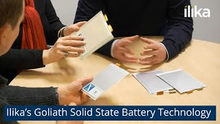 Ilika's Goliath Solid State Battery Technology