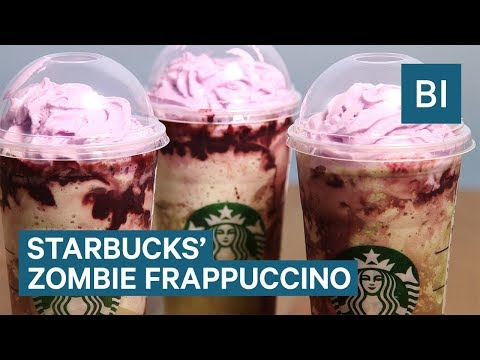 We tried Starbucks' new Zombie Frappuccino — here's everything you need to know about it