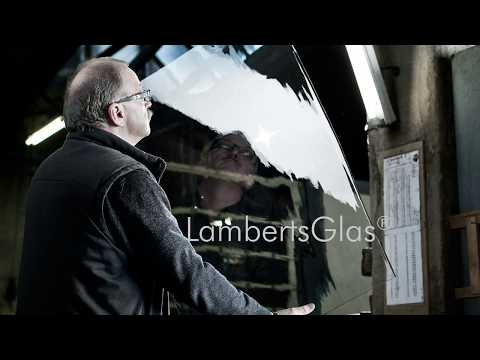 Traditional glass pane blowing using the cylinder method [3:26]