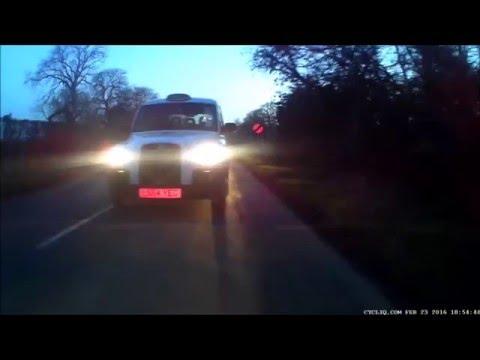White Cab Overtake