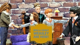 Harry Potter Dolls Ron & Ginny Weasley by Mattel