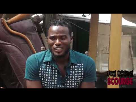 Nollywood Actor Mustapha Sholagbade Plays Mechanic Role in the Movie Scourge