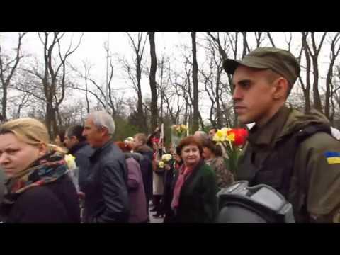 Одесситы скандировали: «Вон из Одессы - бандеровские бесы!»