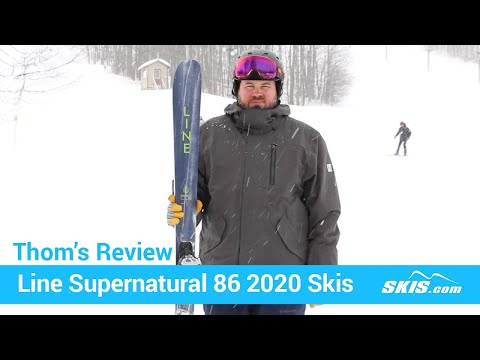 Video: Line Supernatual 86 Skis 2020 20 40