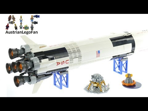 Vidéo LEGO Ideas 21309 : NASA Apollo Saturn V