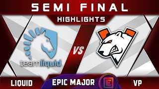 Liquid vs VP Semi Final EPICENTER Major 2019 Highlights Dota 2