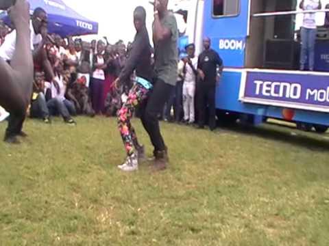 Kenyan celebrity DNA dances with a skinny chiq