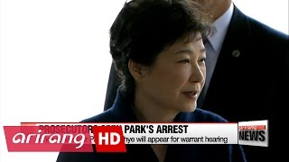 Prosecutors request arrest warrant for Park Geun-hye, warrant hearing on to be held Thursday