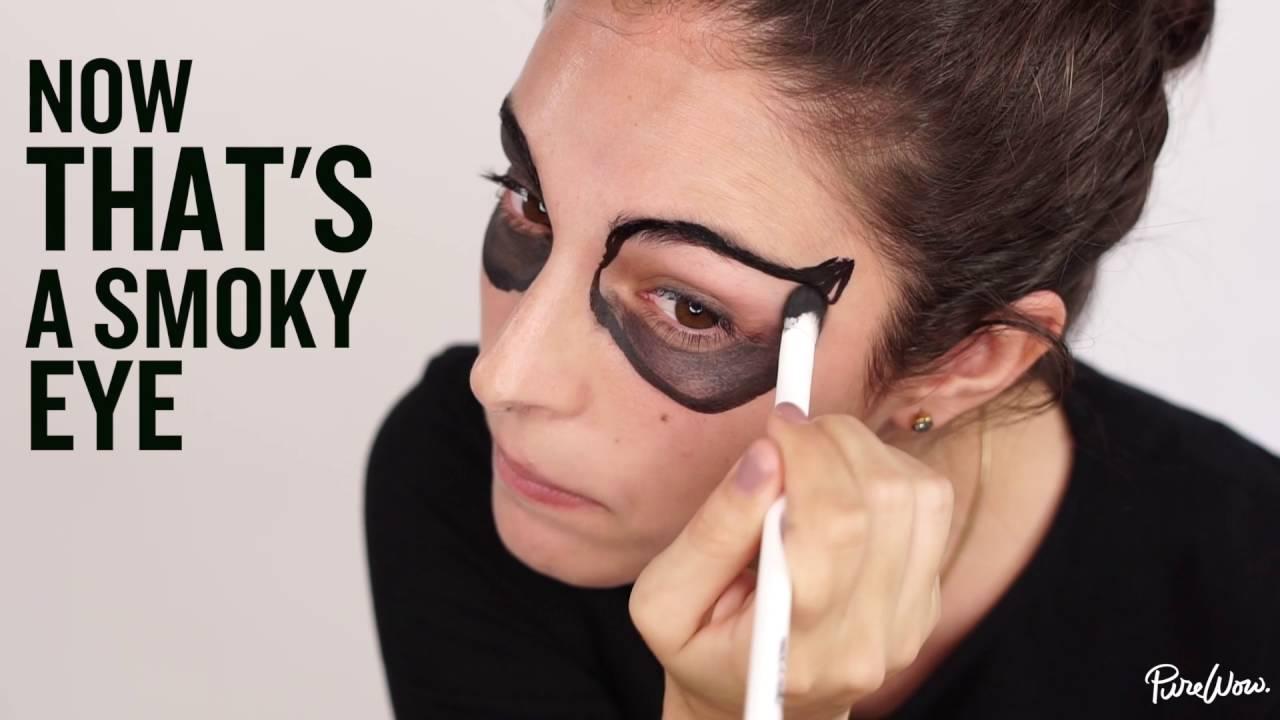 9 easy halloween makeup tutorials for adults purewow skeleton makeup baditri Choice Image