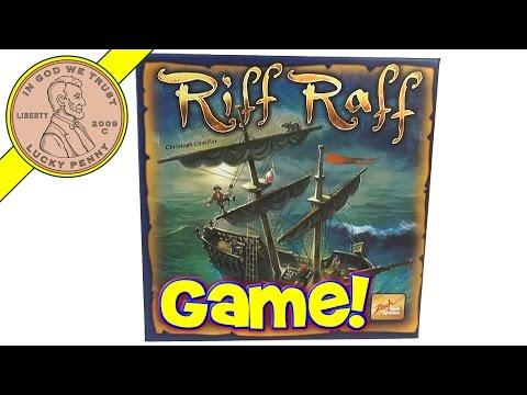 Riff Raff Balancing Boat Deck Board Game, Zoch Verlag
