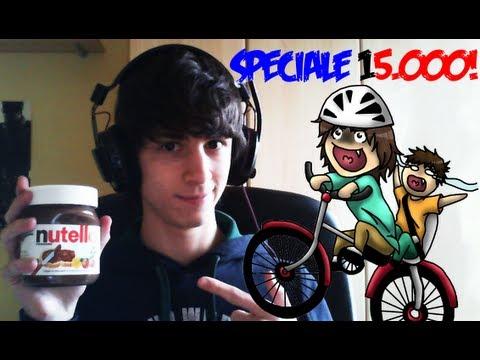 Happy Wheels - OGNI MORTE, UN CUCCHIAIO DI NUTELLA!! [SPECIALE 15.000 ISCRITTI!]
