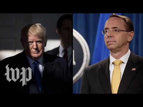 Trump and Rosenstein: A history