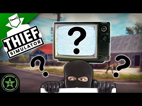 THE VANISHING TV - Thief Simulator (New Game Plus) | Let's Watch