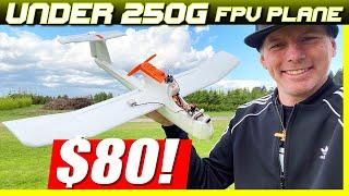 $80 MINI FPV PLANE!!! - Pathfinder Explorer under 250 Grams!