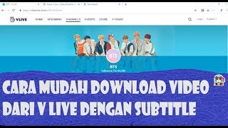 how to download videos from vlive with english subtitles