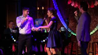 "Laura Osnes w/ Corey Cott, Jeremy Jordan - ""In My Own Little Corner/Agony"" (Broadway Princess Party)"