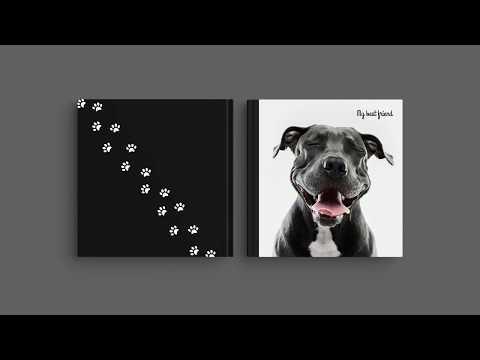 Inspirace pro obal Vaší fotoknihy - 'Můj nejlepší přítel'