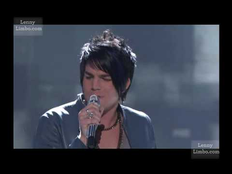 Adam Lambert - Black or White + Judges