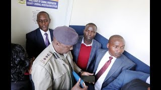 Defiant Governor Sang arrested amid teargas drama
