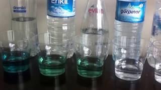 Bunu İzlemeden Bu Yaz Şişe Su Almayın! Piyasadaki Suların Alkali Testi