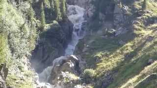 Wilde Wasser   Stubaier Gletscher   Dresdner Hütte   Neustift   Tirol -  Österreich