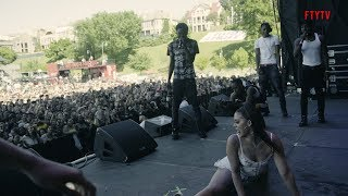 NLE Choppa INVADES Memphis In May Festival + Twerk Contest & Dedication To His Mom