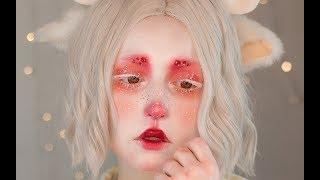 hitsuji • makeup tutorial | NYX Face Awards Türkiye Entry 2018 (english cc subs)