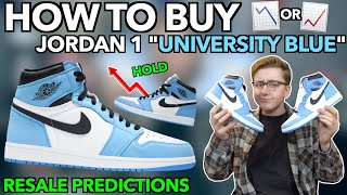 "HOW TO BUY Nike Air Jordan 1 ""University Blue"" Mens and GS! 