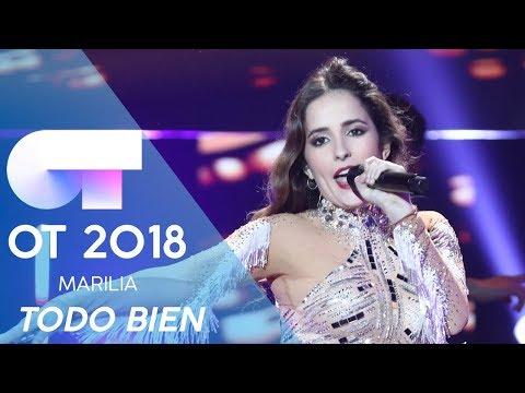 """TODO BIEN"" - MARILIA   Gala Eurovisión 2019   OT 2018"