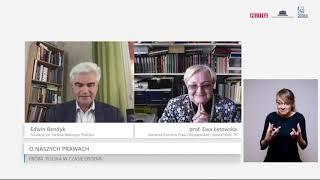 MÓJ SUBSKRYBOWANY KANAŁ – Prof. Ewa Łętowska o zagrożeniach dla demokracji