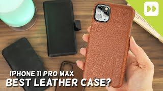 Top 5 iPhone 11 Pro Max Leather Cases