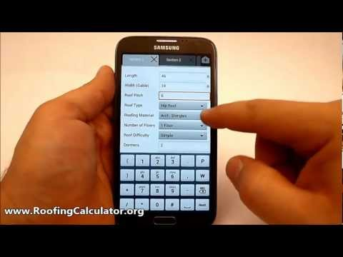 Video of Roofing Calculator PRO