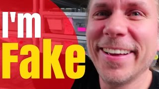 """I'M FAKE! """"Forced Positivity""""  """"Faking It For Views"""" On YouTube! -   BRIAN BARCZYK"""