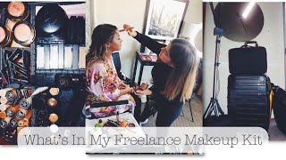 WHAT'S IN MY FREELANCE MAKEUP ARTIST KIT | Isabella Dulac