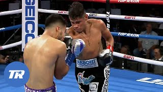 Emanuel Navarrete Looks Ahead to Future at 122 and 126 Pounds