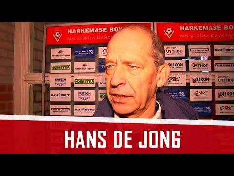 """Hans de Jong: """"Muoite om de bal by de spitsen te krijen"""""""