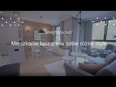 Mieszkanie w Gdańsku w stylu skandynawskim.