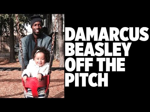 DAMARCUS BEASLEY OFF THE PITCH