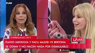Iliana Calabró le reprochó a Graciela Alfano que no pudo trabajar con Matías Alé por culpa de ella