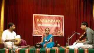 Parivadini Live- Srividya Sridharakumar for Paramp - srividhyasridhar
