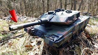 SOFTAIR PANZER im SCHUSS und GELÄNDE TEST! - Leopard II A5 RC