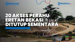 Antisipasi Jadi Jalur Tikus Pemudik, 20 Akses Perahu Eretan di Bekasi Ditutup Sementara