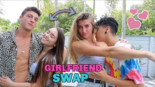 SWITCHING GIRLFRIENDS WITH JATIE VLOGS FOR 24 HOURS!