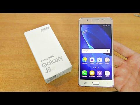 Samsung Galaxy J5 (2016) Unboxing, Setup & First Look! (4K)