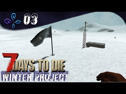 Visite au trader.... Winter Project sur 7 DAYS TO DIE [Fr] #03