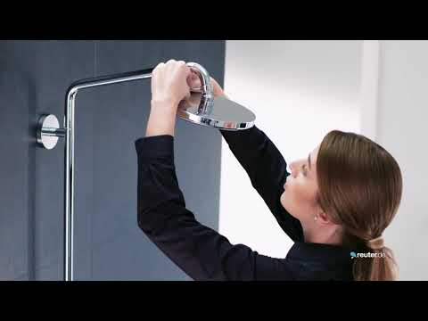 "Montage Duschsystem Hansgrohe ""Croma 220"""