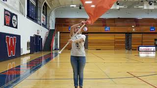 WAHS Color Guard Basics For Tryouts