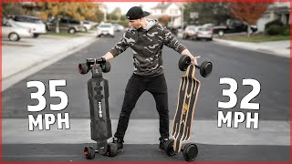 I BOUGHT two ELECTRIC LONGBOARDS from CHINA ($1,700 and $1,200)