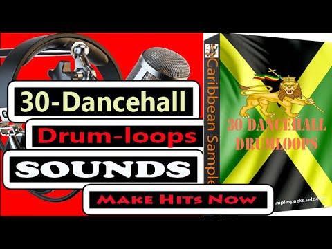 30 Dance hall Drum loops /Wav Format 24 Bits