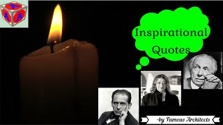 Inspirational Quotes By Famous Architects / Revolution / Motivational Quotes :-Can Inspire the Life